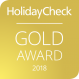 HolidayCheck 2018 Gold Award